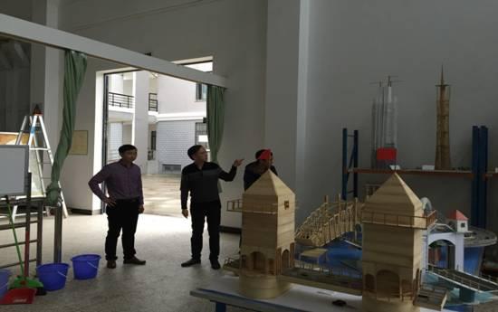 参观福建工程学院土木工程学院实训室